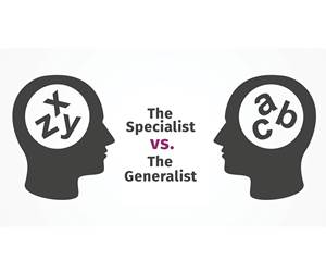 The Need for Generalists: Part 1