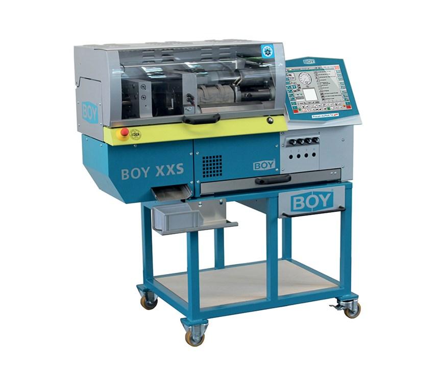 New Boy XXS tabletop machine