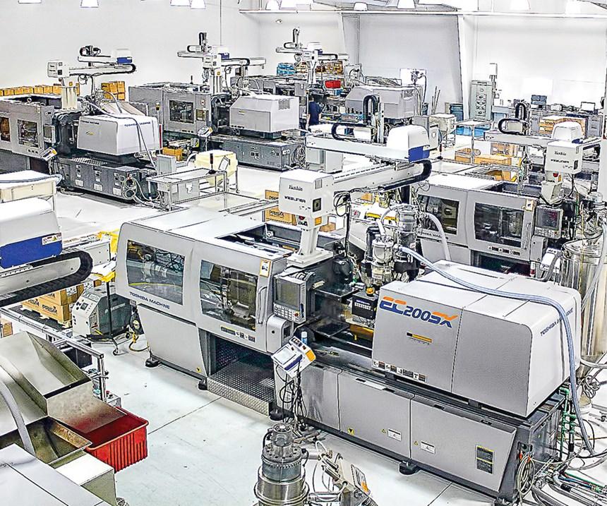 Prism Plastics all electric machines
