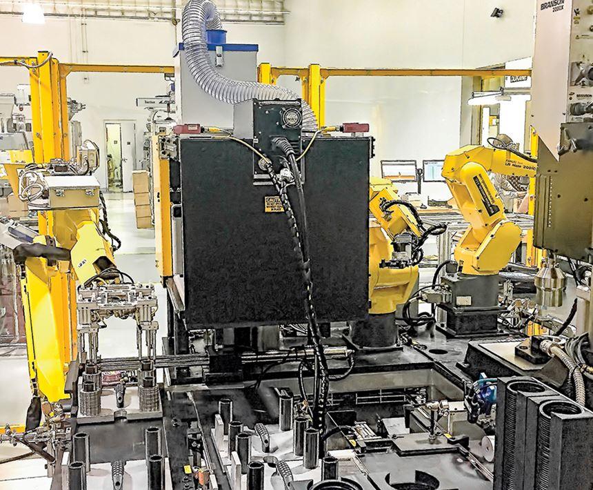 Prism Plastics articulated robots