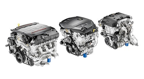 There are three engines available for the 2016 car: a small block 6.2-liter V8 LT1,  an all-new 3.6-liter V6 and an Ecotec 2.0-liter turbocharged four.
