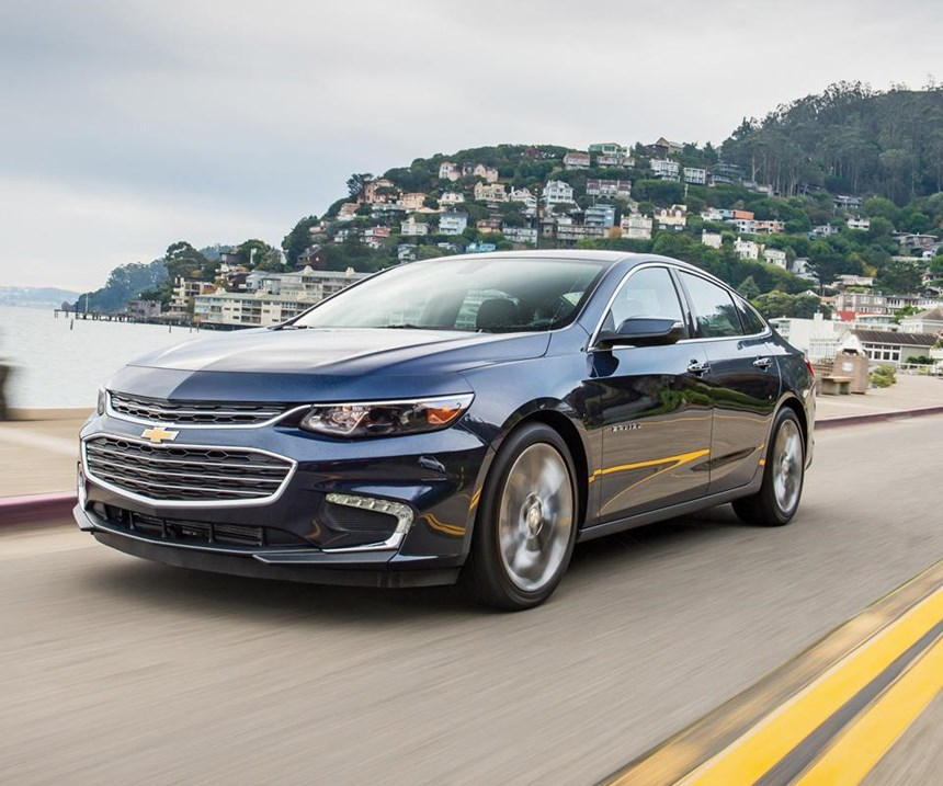 """The 2016 Malibu exterior design was done by Jaymer Starbody, who was just out of the College of Creative Studies when he did the car. Cafaro says that there is a whole generation of young designers who are having the opportunity to work on a broad portfolio of products that are encompassed by the Chevy brand. And because of the range, Cafaro says, """"It really tests how good you are as a designer."""""""