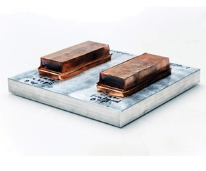 One of the advantages that friction welding offers is the ability to weld dissimilar materials.