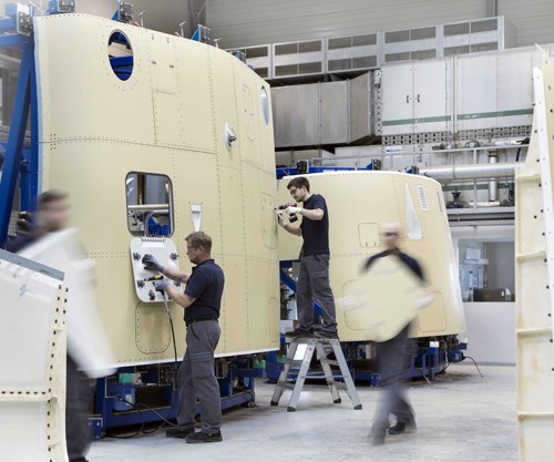FACC and Bombardier and CSeries and wing-to-body fairings