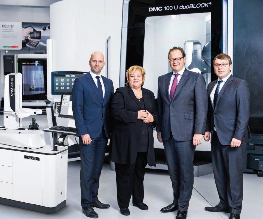 Haimer and DMG MORI members