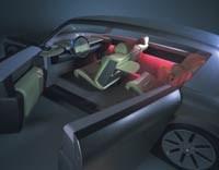 Johnson Controls Inc.'s Ariston luxury concept vehicle