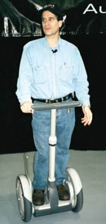 Dean Kamen and the Segway Human Transporter