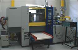 mold can be transferred into any appropriate molding machine