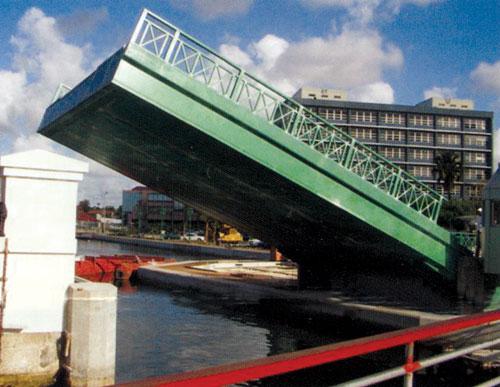 Chamberlain bascule bridge