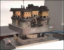 Example of fixturing/workholding