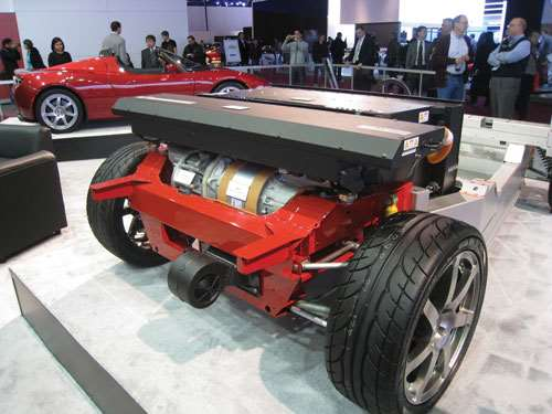 Tesla Roadster chassis