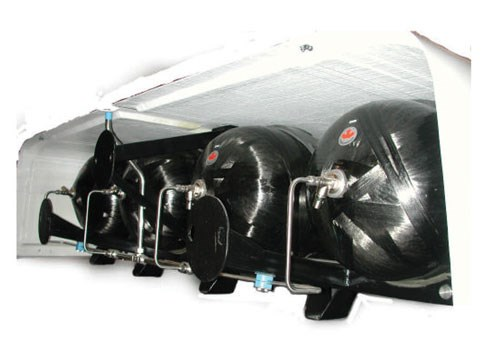 CNG rack for bus