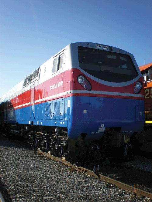 GE Transportation locomotive