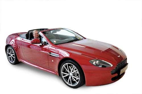 Bob in Aston Martin