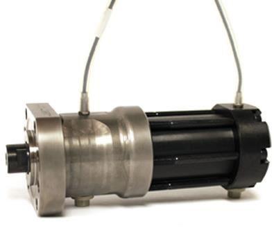 Hydraulic locking core pull cylinder