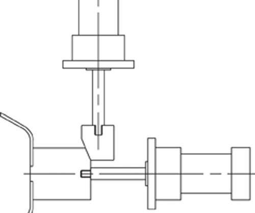 slide movement with standard cylinder