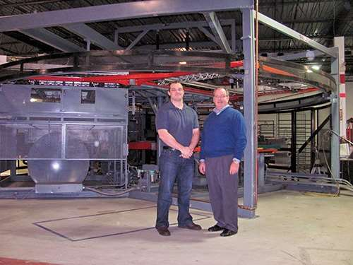 Evan and Hal Gilham of custom thermoformer Productive Plastics
