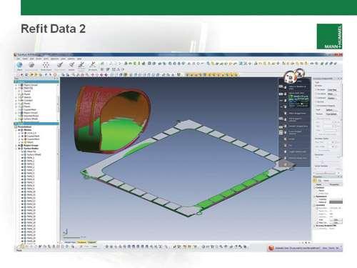 nominal CAD surface