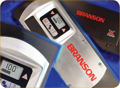 Ultrasonic welding power supplies from Branson Ultrasonics.