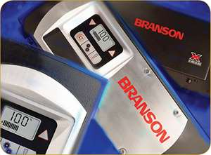Ultrasonic welding power supplies from Branson Ultrasonics.