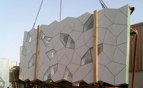 Grc Cladding For Steel Shades : The building envelope betting on big time