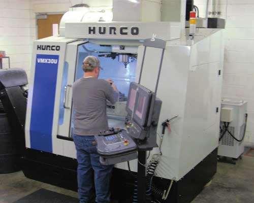 Hurco machine