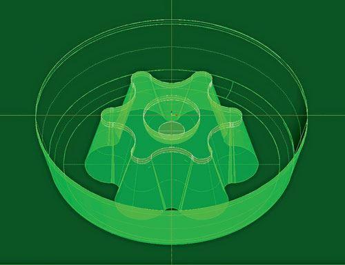 3D hexabular