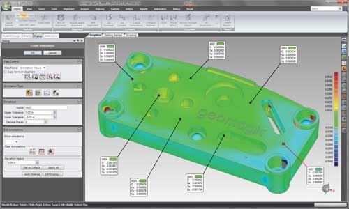 3D metrology software