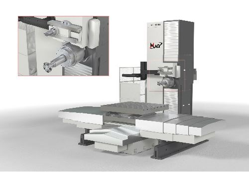 RT 1600U horizontal boring mill from Mag