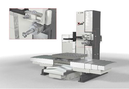 RT 1600U horizontal boring mill from Mag