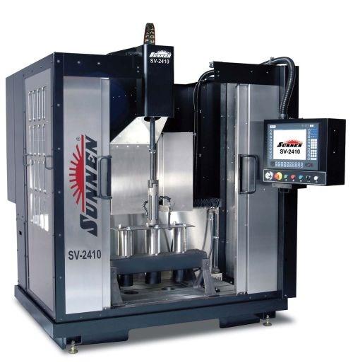 Sunnen's SV-2410 vertical honing machine