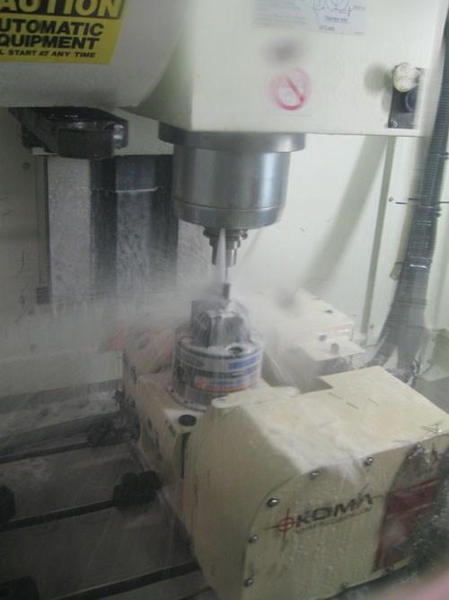 rigid machining center