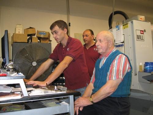 Justin Gombar, Paul Jr. and Paul Sr