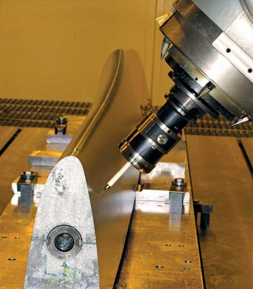 strain gauge measurement probe