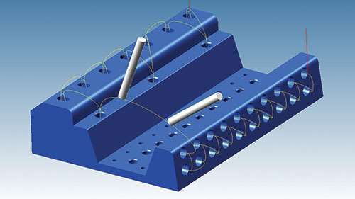 advanced multi axis drilling
