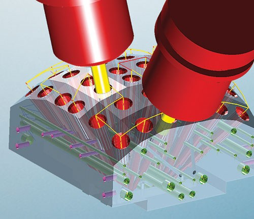 multi axis hole drilling