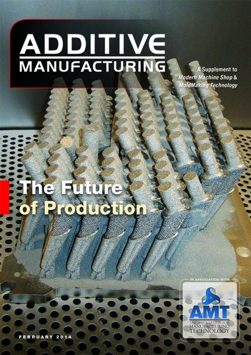 February 2014 Additive Manufacturing cover