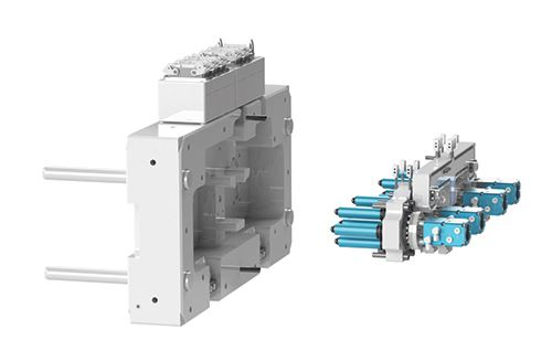 double cylinder actuation