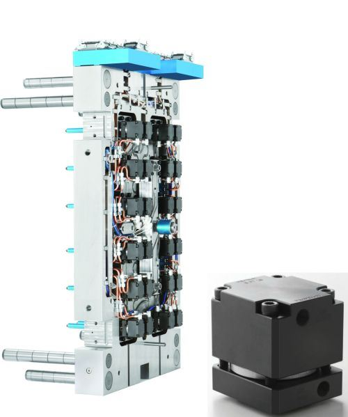 cooling free valve gate actuator