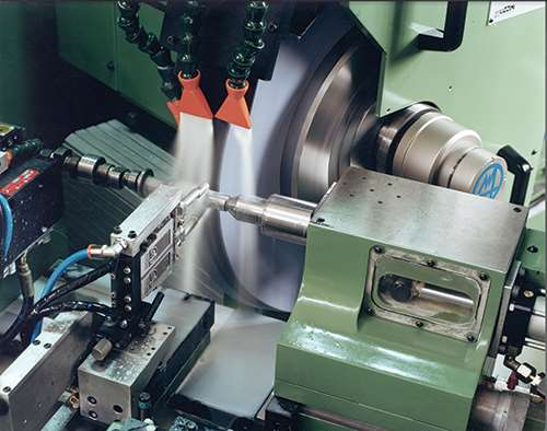 angle head cylindrical grinder