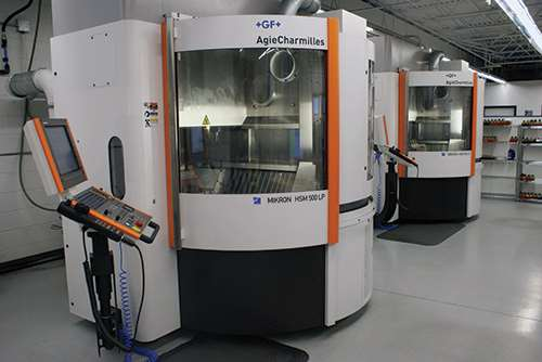Mikron HSM 500 LPM high-speed VMCs