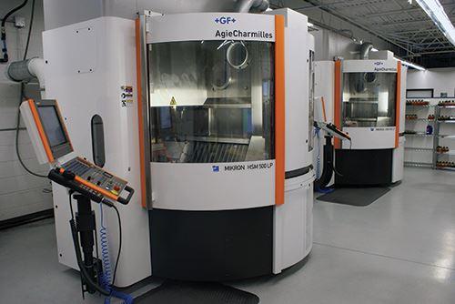 Mikron HSM 500 LPM high-speed VMCs