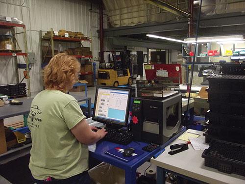 Michelle Pollock, A.B. Heller employee
