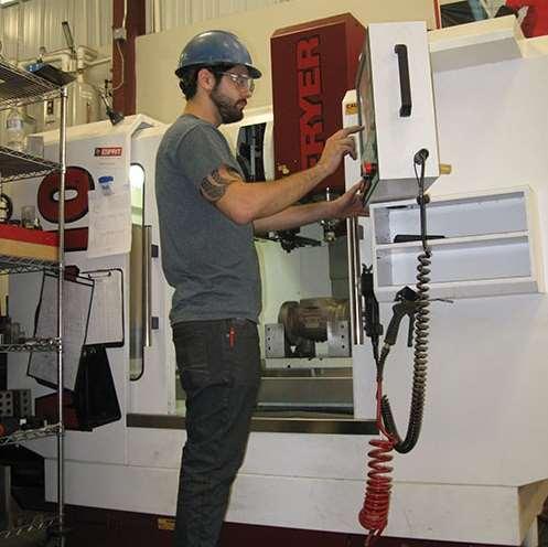 Effort Foundry's machine shop