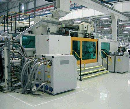 chiller/TCU machines