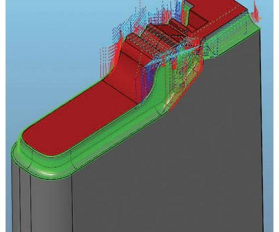 model cavity insert
