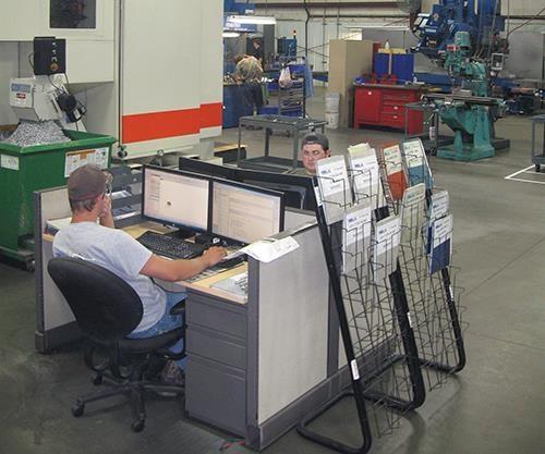 programmers on the shop floor