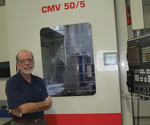 Jerry Hally of Tech Manufacturing