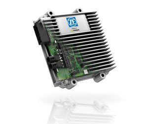 The ZF ProAI, a system that makes use of the NVIDIA DRIVE PX2 artificial intelligence computing platform.