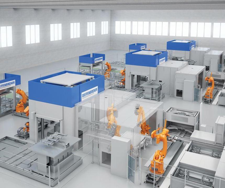 Dieffenbacher machinery